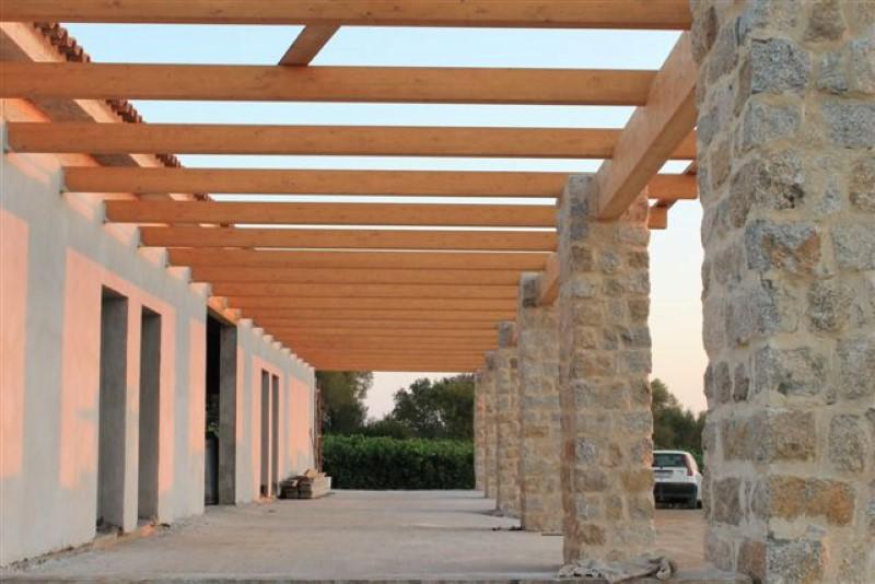 Gaspari paolo bottega artigiana tetti in legno for Montaggio tetto in legno ventilato